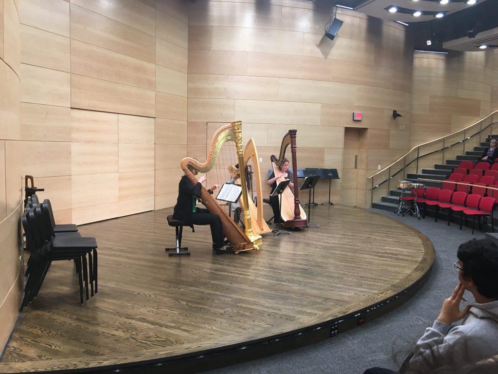 Harp Ensemble Perofrmance