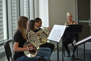 Horn Section Encounter with LPO
