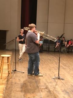 Summer Fest Trombone Encounter